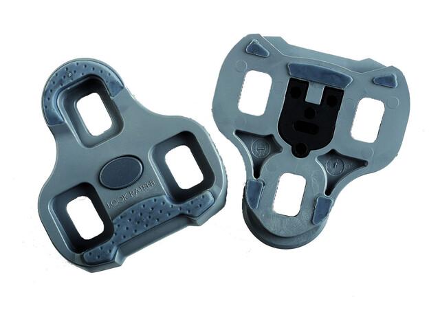 Look Kéo Grip Pedal Plates grey